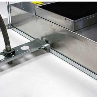 Modular Cleanroom Ceiling System T-Bar Grid