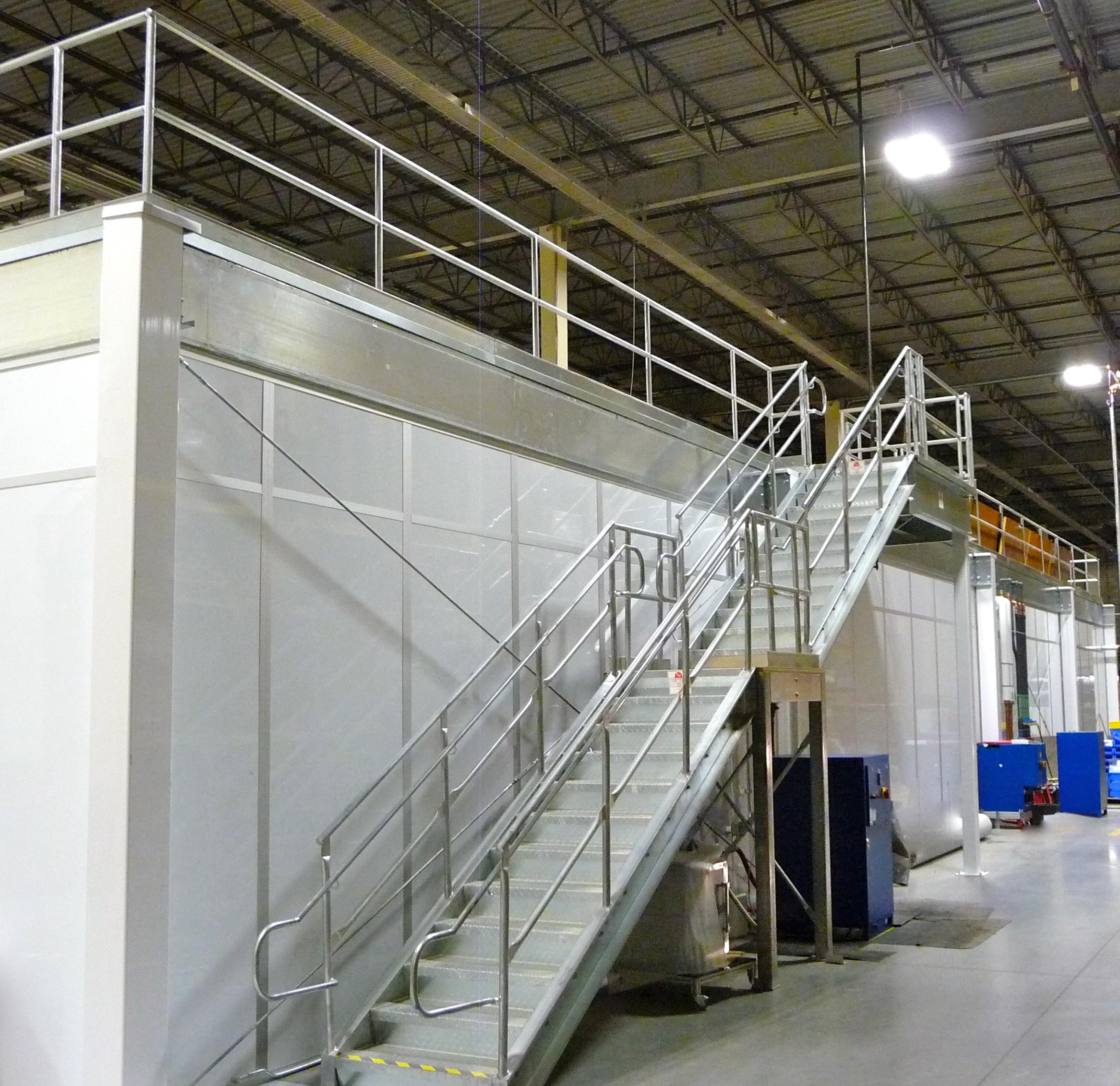 Prefabricated Mezzanines