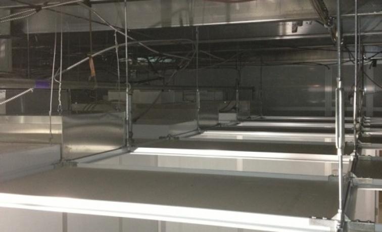 Cleanroom Ceilings Inc T Bar Grid Clean Room Ceiling
